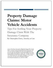 REPORT: Property Damage Claims: Motor Vehicle Accidents